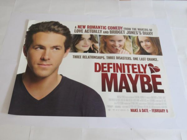 DEFINETLY MAYBE | UK Quad | Original Movie Poster