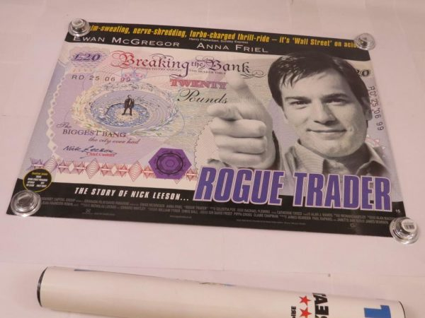 ROGUE TRADER | UK Quad | Original Movie Poster