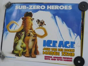 ICE AGE SUB ZERO HEROS | UK Quad | Original Movie Poster