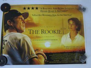 THE ROOKIE | UK Quad | Original Movie Poster