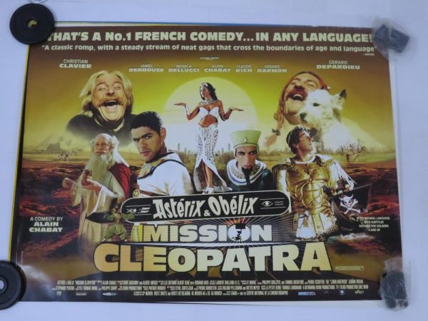 ASTERIX AND OBELIX MISSION CLEOPATRA | UK Quad | Original Movie Poster