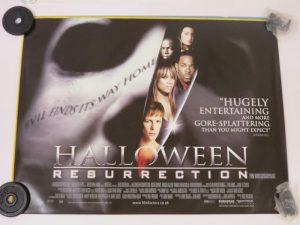 HALOWEEN RESURRECTION | UK Quad | Original Movie Poster