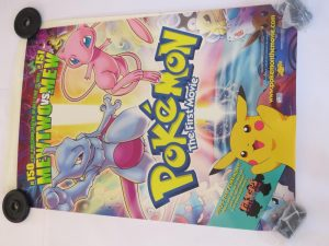 POKEMON THE FIRST MOVIE | One Sheet | Original Movie Poster