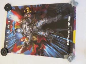 BATMAN AND ROBIN | VILLAINS | One Sheet | Original Movie Poster