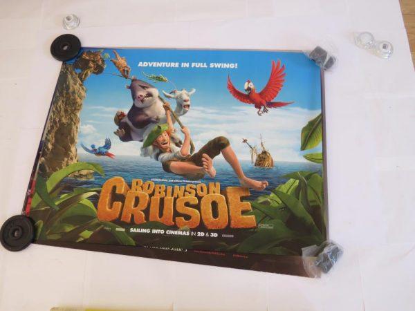 ROBINSON CRUSOE | UK Quad | Original Movie Poster
