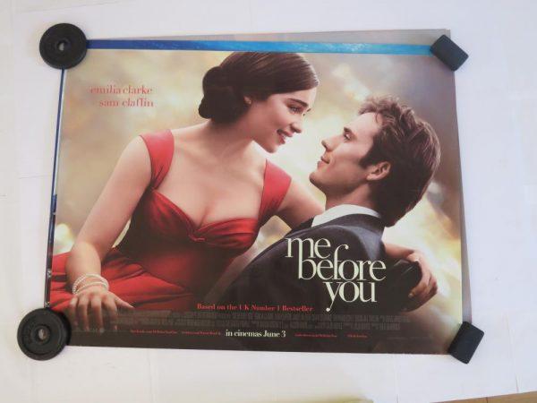 ME BEFORE YOU | UK Quad | Original Movie Poster