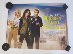 WHISKEY TANGO FOXTROT | UK Quad | Original Movie Poster