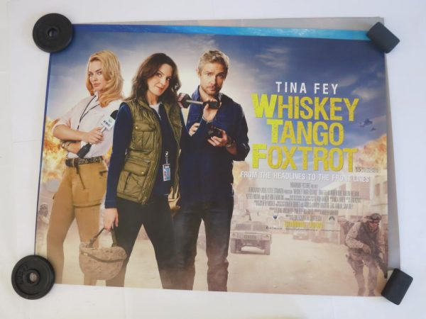 WHISKEY TANGO FOXTROT | UK Quad | Original Movie Poster