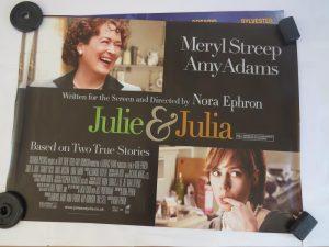 JULIE AND JULIA   UK Quad   Original Movie Poster