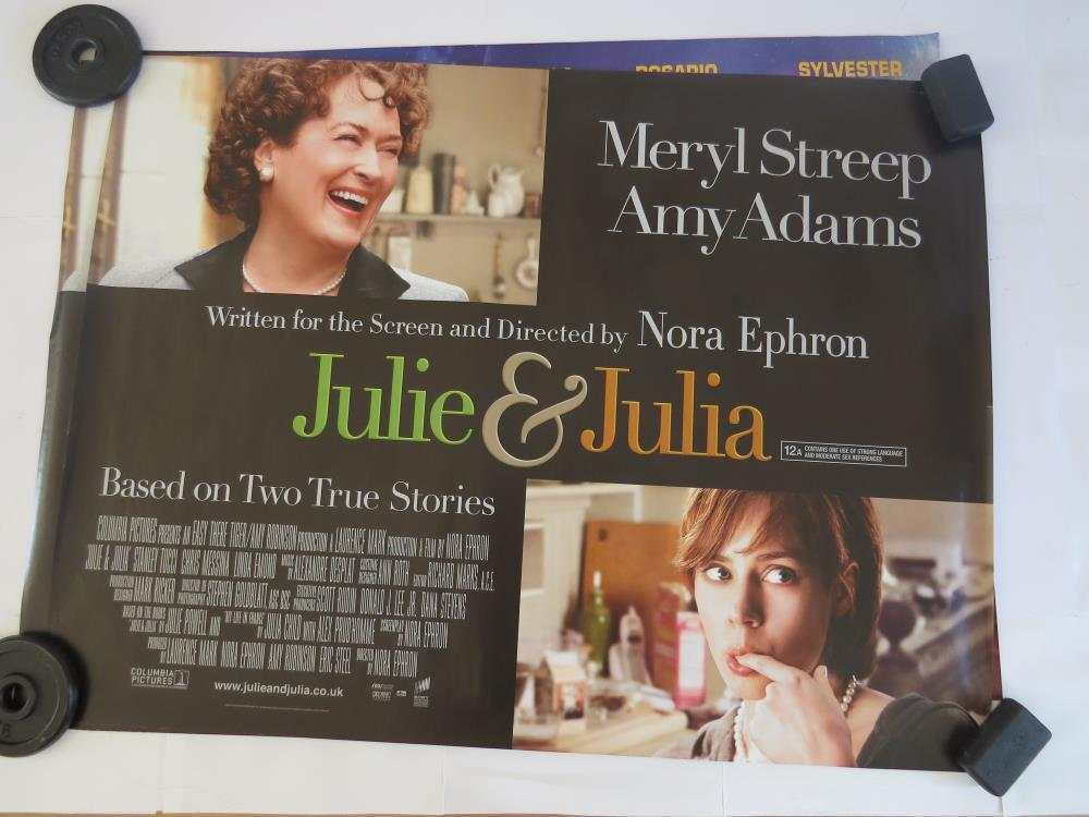 JULIE AND JULIA | UK Quad | Original Movie Poster