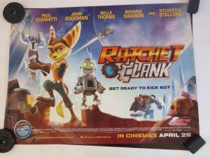 RATCHET AND CLANK | UK Quad | Original Movie Poster