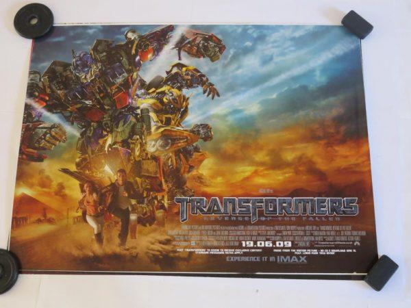 TRANSFORMERS REVENGE OF THE FALLEN | UK Quad | Original Movie Poster