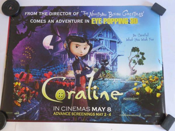CORALINE | UK Quad | Original Movie Poster