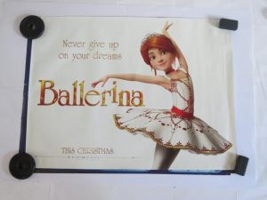 BALLERINA | UK Quad | Original Movie Poster