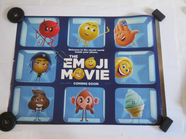 EMOJI MOVIE | UK Quad | Original Movie Poster