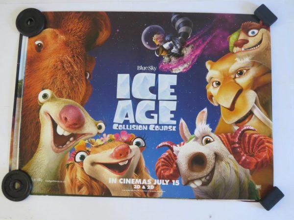 ICE AGE COLLISION COURSE | UK Quad | Original Movie Poster