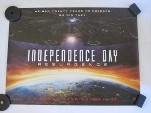 INDEPENDANCE DAY RESURGENCE | UK Quad | Original Movie Poster