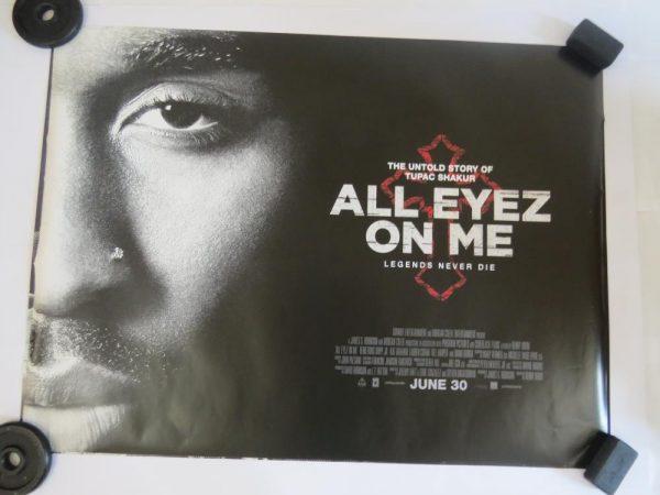 ALL EYEZ ON ME | UK Quad | Original Movie Poster