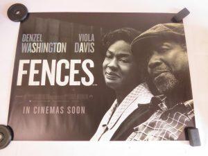 FENCES | UK Quad | Original Movie Poster