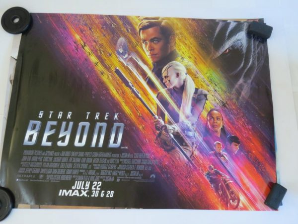 STAR TREK BEYOND | UK Quad | Original Movie Poster