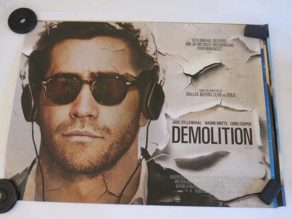 DEMOLITION | UK Quad | Original Movie Poster