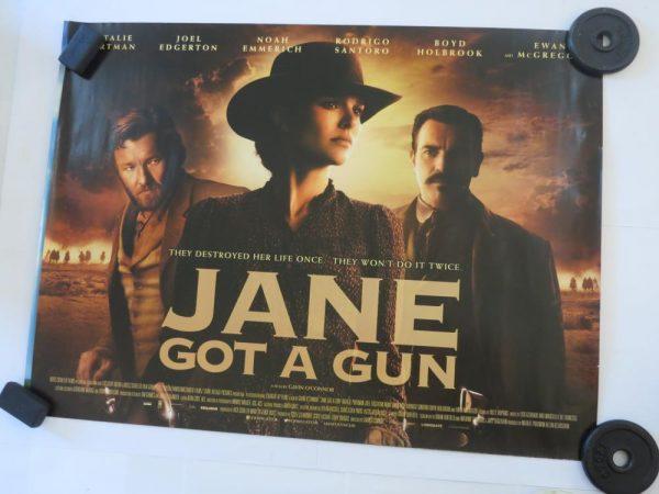 JANE GOT A GUN | UK Quad | Original Movie Poster