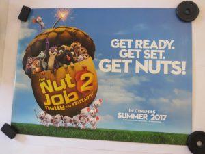 THE NUT JOB 2 | UK Quad | Original Movie Poster