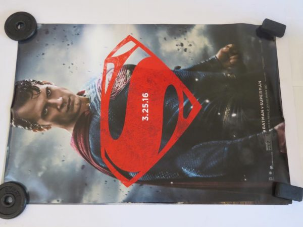 BATMAN VS SUPERMAN | SUPERMAN | One Sheet | Original Movie Poster