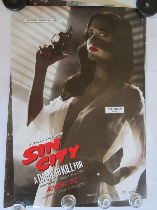 SIN CITY EVA GREEN | One Sheet | Original Movie Poster