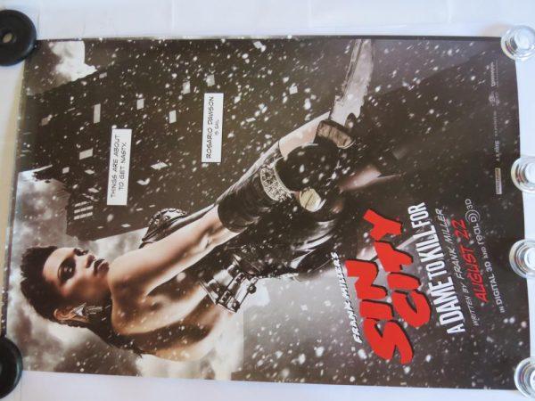 SIN CITY ROSARIO DAWSON | One Sheet | Original Movie Poster