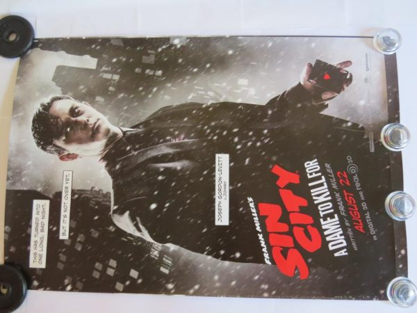 SIN CITY JOSEPH GORDON LEVITT | One Sheet | Original Movie Poster