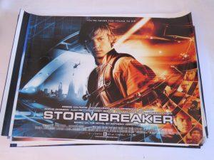STORMBREAKER | UK Quad | Original Movie Poster