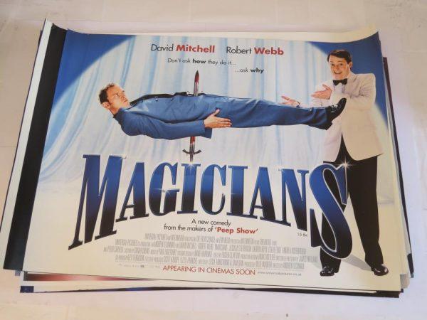 MAGICIANS | UK Quad | Original Movie Poster