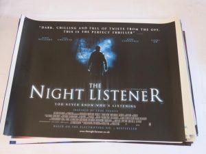 THE NIGHT LISTENER | UK Quad | Original Movie Poster