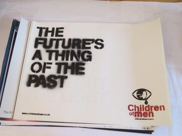 CHILDREN OF MEN | UK Quad v1 | Original Movie Poster