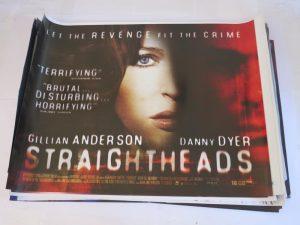 STRAIGHT HEADS | UK Quad | Original Movie Poster