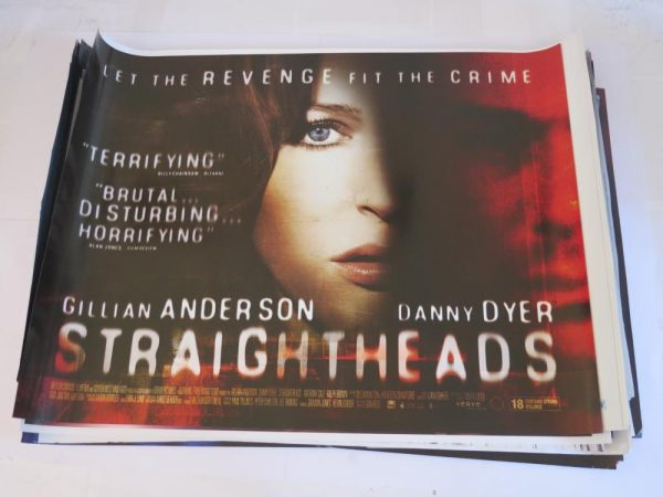 STRAIGHT HEADS | UK Quad | Original Movie Poster
