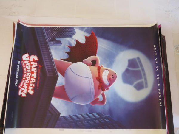 CAPTAIN UNDERPANTS | One Sheet | Original Movie Poster