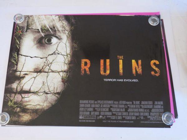 THE RUINS | UK Quad | Original Movie Poster