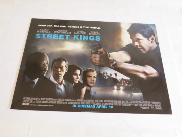 STREET KINGS | UK Quad | Original Movie Poster