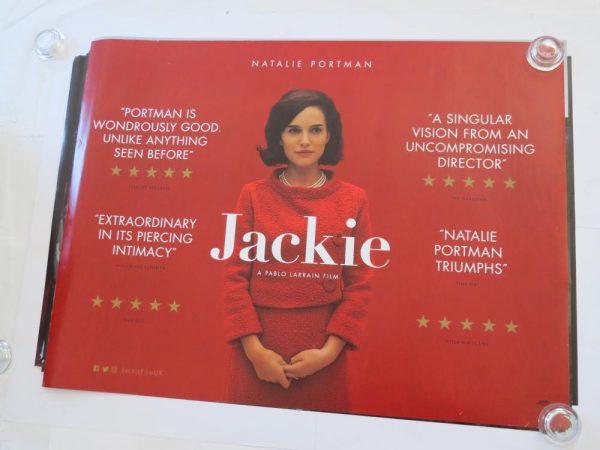 JACKIE | UK Quad | Original Movie Poster