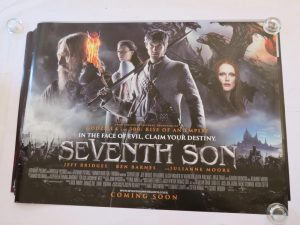 SEVENTH SON | UK Quad | Original Movie Poster