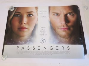 PASSENGERS | UK Quad | Original Movie Poster