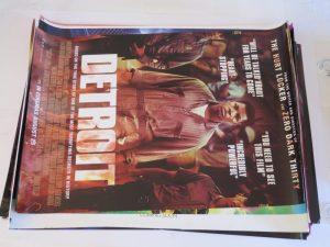 DETROIT | one sheet | original movie poster