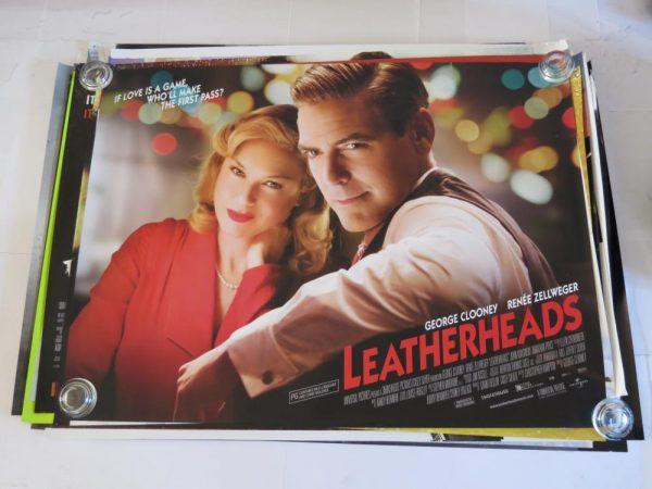 LEATHERHEADS | UK Quad | Original Movie Poster