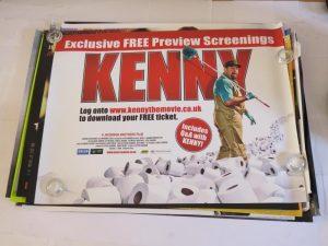 KENNY | uk quad | original movie poster