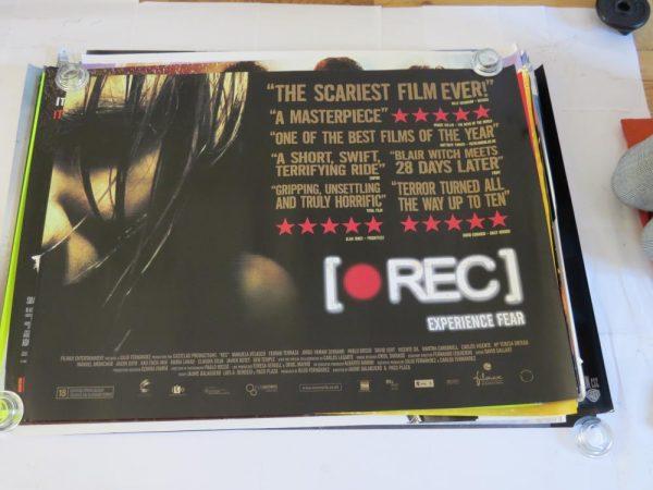 Rec | uk quad | original movie poster