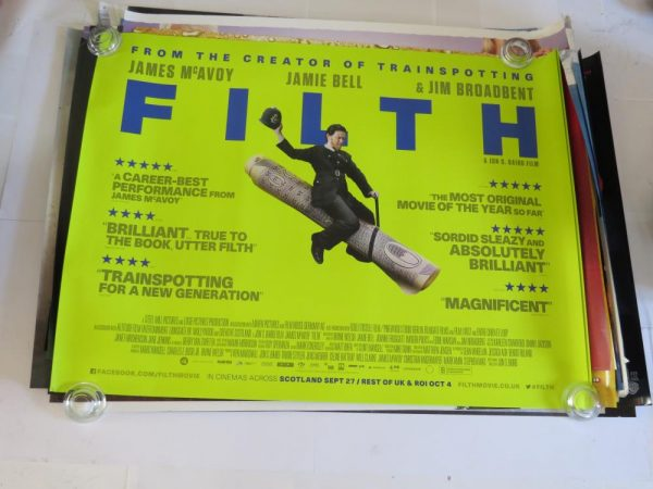 FILTH | uk quad | original movie poster