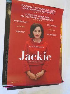 JACKIE | US ONE SHEET | original movie poster