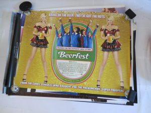 BEERFEST MOVIE POSTER AUCTION